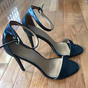 Size 9 two strap high heels